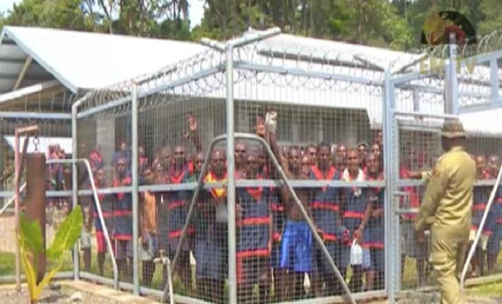 পাপুয়া নিউ-গিনিতে কারারক্ষীর গুলিতে ১৭  কয়েদী নিহত