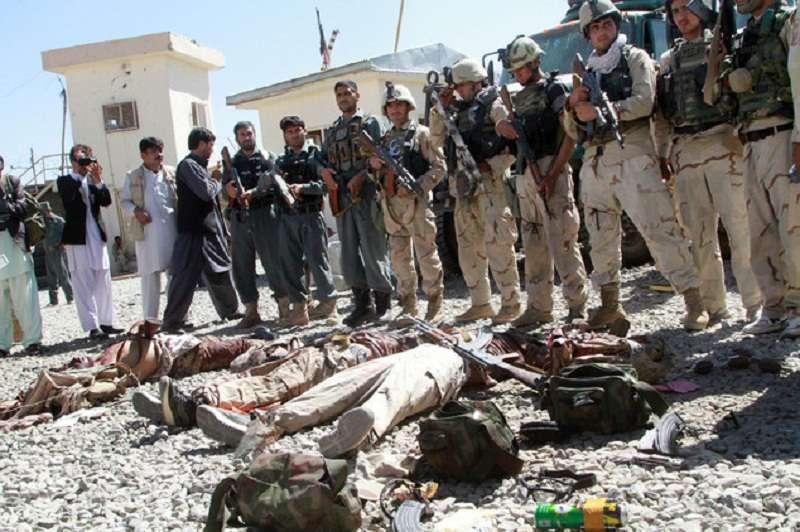 আইএসের ১২ সন্ত্রাসী নিহত আফগানিস্তানে