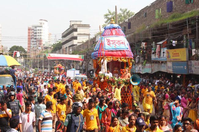 জগন্নাথ দেবের রথযাত্রা উৎসব  রবিবার থেকে শুরু