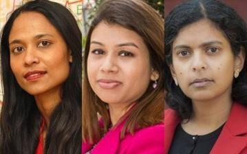যুক্তরাজ্যের সংসদীয় নির্বাচনে কেন্দ্রবিন্দুতে 'বাংলাদেশী তিনকন্যা'