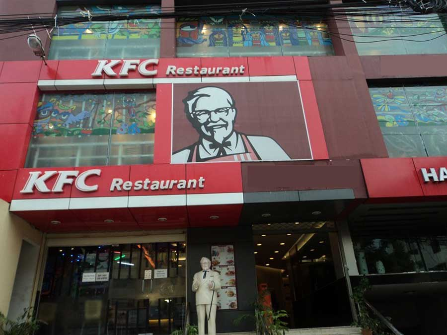 রাজধানীতে KFC-কে লক্ষ টাকা জরিমানা
