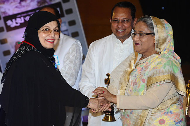 'বিশ্বজয় করবে বাংলাদেশের চলচ্চিত্র':শাবানা