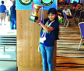 আন্তর্জাতিক গণিত প্রতিযোগিতায় বাংলাদেশী রিদার সাফল্য