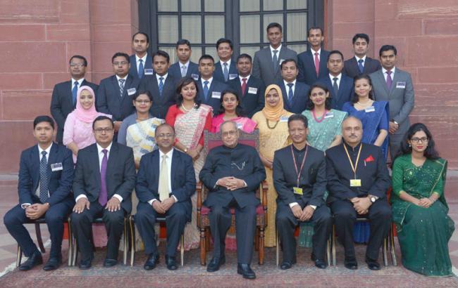 বাংলাদেশ ভারতের নিকটতম বন্ধু রাষ্ট্র : রাষ্ট্রপতি প্রণব মুখার্জি