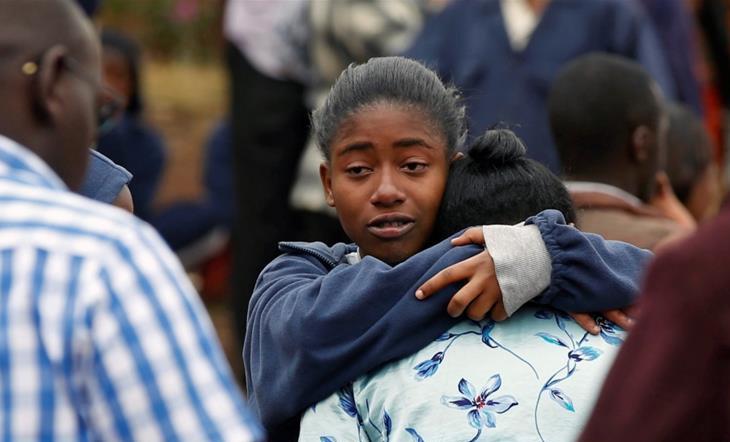 অগ্নিসন্ত্রাসের ঘটনায় কেনিয়ায় নিহত ৯ স্কুল ছাত্রী