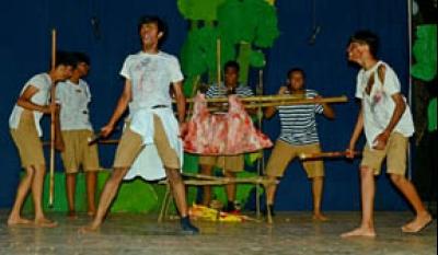 আন্তর্জাতিক নাটক ও নৃত্য উৎসবে স্কলাসটিকার পুরস্কার লাভ
