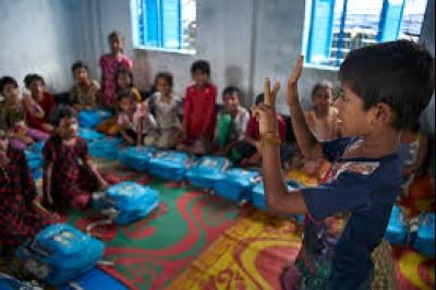 রোহিঙ্গা শিশুদের জন্য ইউনিসেফ স্থাপন করবে ১৩শ' স্কুল