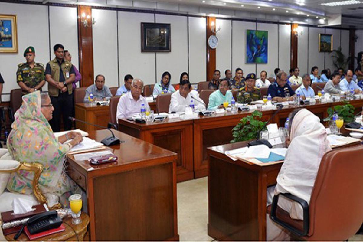 প্রাকৃতিক দুর্যোগ মোকাবেলায় প্রস্তুত সরকার: প্রধানমন্ত্রী