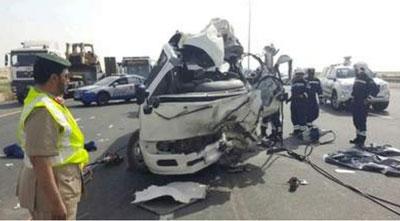 আরব আমিরাতে সড়ক দুর্ঘটনায় ১০ জন নিহত