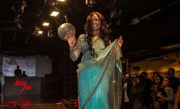 ভারতে এসিডদগ্ধ নারীদের ব্যতিক্রমী ফ্যাশন শো