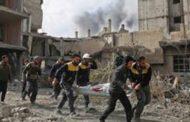 সিরিয়ায় সরকারি বাহিনীর  হামলায় ২২০ জন নিহত