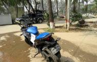 উত্তরায় চোরাই মোটর সাইকেল উদ্ধার
