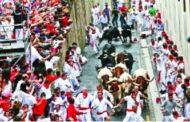 স্পেনের পামপ্লোনার 'বুল ফেস্টিভ্যালে' পাঁচজন আহত
