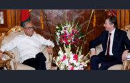 রাষ্ট্রপতির সঙ্গে বেলজিয়ামের রাষ্ট্রদূতের বিদায়ী সাক্ষাৎ