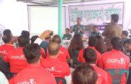 """""""পাঠাও"""" এর চালকদের নিয়ে  ট্রাফিক বিভাগের সচেতনতামূলক সভা"""