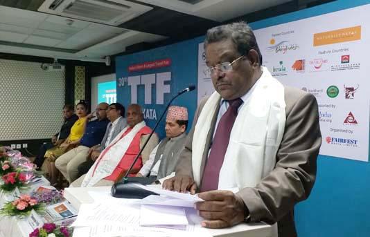 ৩০তম কলকাতা টিটিএফ উদ্বোধন করলেন বাংলাদেশের বিমান ও পর্যটন মন্ত্রী