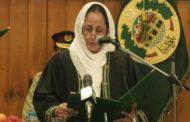 পাকিস্তানের ইতিহাসে প্রথম নারী প্রধান বিচারপতি তাহিরা