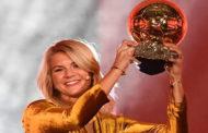 প্রথম নারী ব্যালন ডি'অর পুরস্কার পেলেন হেগেরবার্গ