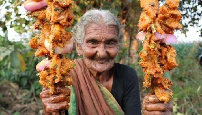 ভারতের ১০৭ বছরের ইউটিউবার রাঁধুনী মারা গেছেন