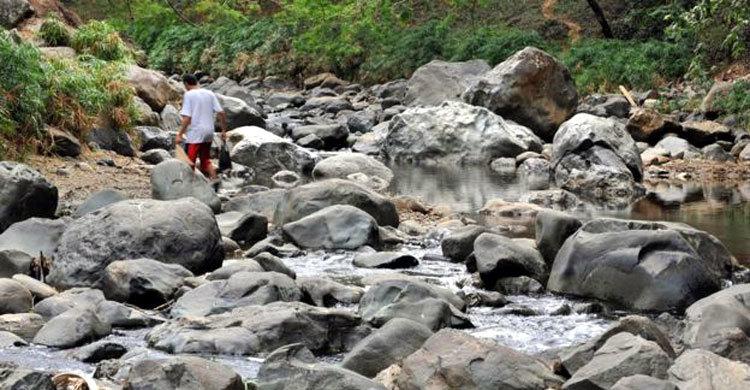 একটি নদীর করুন মৃত্যু, পুরো নদী অদৃশ্য হলো এক সপ্তাহে