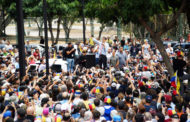 ভেনিজুয়েলায় মানুষের বিক্ষোভ, মাদুরোকে উৎখাতের অঙ্গীকার গুয়াইদোর