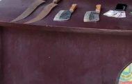 দেশীয় অস্ত্রসহ ৩ ডাকাতকে গ্রেফতার করলো শাহজাহানপুর থানা পুলিশ
