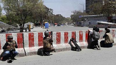 আফগান তথ্য মন্ত্রণালয়ে হামলা