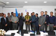 বাংলাদেশ পুলিশের কমিউনিটি ব্যাংক এর সাথে সফটওয়্যার কোম্পানী এজ্ভার্ব সিস্টেমস লিঃ এর সাইনিং সিরিমনি অনুষ্ঠিত