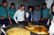 রাজধানীতে ভেজাল বিরোধী বিশেষ অভিযানে লক্ষাধিক টাকা জরিমানা