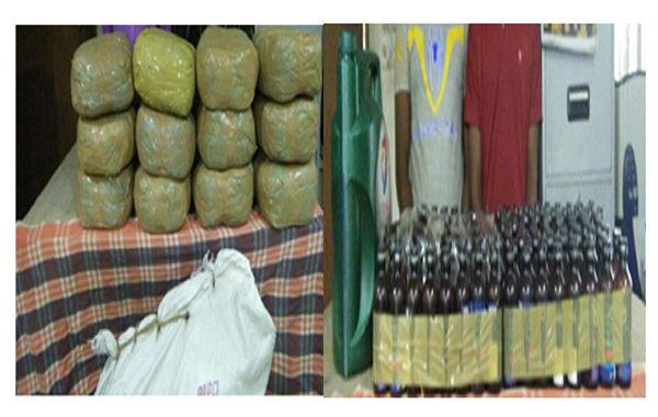 রাজধানীতে গাঁজা ও ফেন্সিডিলসহ গোয়েন্দা জালে ৪  মাদক কারবারি