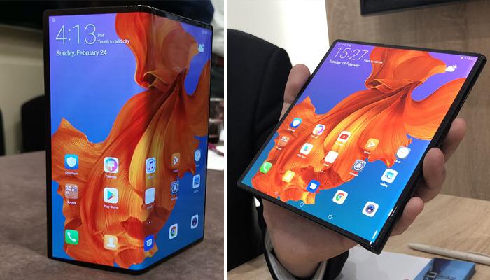 ফোল্ডেবল স্মার্টফোন আনছে Huawei