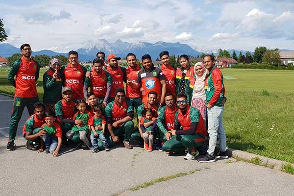 অস্ট্রিয়ার ক্রিকেট লীগে ৬ উইকেটে জয়লাভ করেছে বাংলাদেশ ক্রিকেট ক্লাব