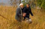 বিয়ার গ্রিলস এর সাথে জঙ্গল অভিযানে ভারতীয় প্রধানমন্ত্রী মোদী