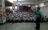 ৪০০ জন শিক্ষার্থীর উপস্থিতিতে ট্রাফিক সচেতনতামূলক সভা অনুষ্ঠিত