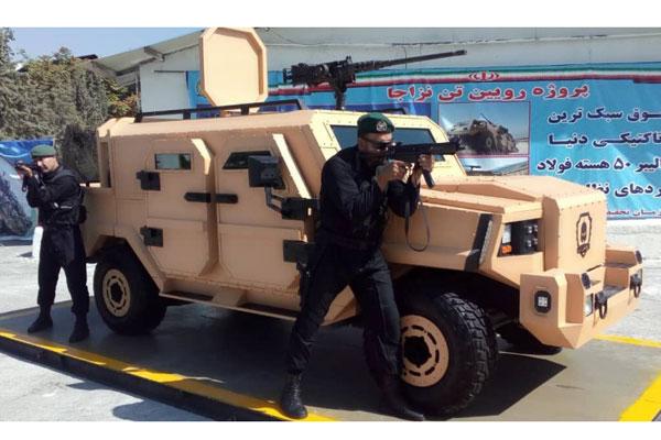 অত্যাধুনিক সামরিক সরঞ্জাম তৈরি করল ইরানের সামরিক বাহিনী