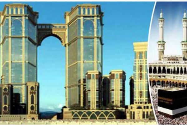 সৌদি আরবে নির্মিত হচ্ছে ঝুলন্ত মসজিদ