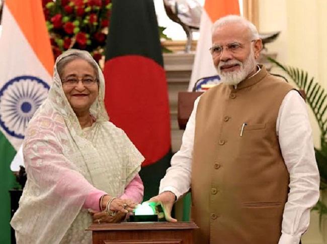 বাংলাদেশ-ভারতের মধ্যে ৭টি চুক্তি স্বাক্ষরিত