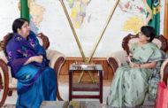 ড. শিরীন শারমিন চৌধুরীকে ভারতের লোকসভার স্পিকারের আমন্ত্রণ