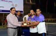 বাংলাদেশ পুলিশ টেনিস চূড়ান্ত প্রতিযোগিতায় ডিএমপি চ্যাম্পিয়ন