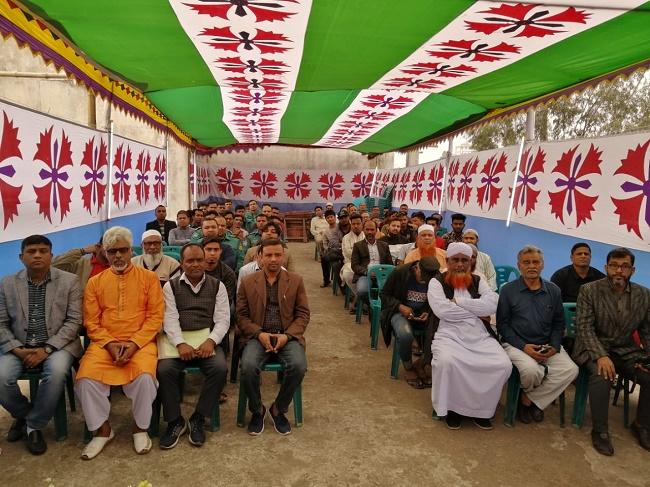 সুশীল সমাজের প্রতিনিধির সাথে প্রতিষ্ঠা দিবস উদযাপন করলো মিরপুর মডেল থানা পুলিশ