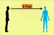 করোনাভাইরাস সংক্রমণ ঠেকাতে যে কারণে দুই মিটার দূরে থাকবেন