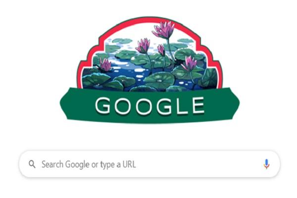 গুগল ডুডলে স্বাধীনতা দিবস