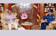 রাষ্ট্রপতির সঙ্গে সাক্ষাৎ করলেন বিদায়ী আইজিপি