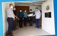 পুলিশ হাসপাতালকে ৫টি ভেন্টিলেটর উপহার দিয়েছে নাভানা গ্রুপ