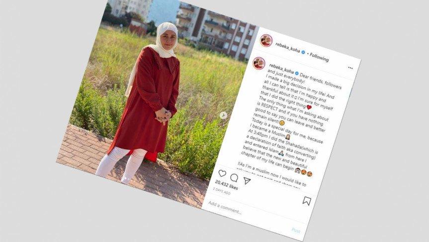 ইসলাম গ্রহণ করলেন বিশ্বখ্যাত ভারোত্তলক রেবেকা কোহা