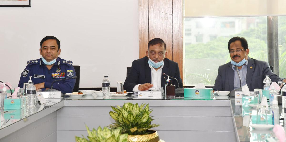 'পুলিশের পরিবর্তন দৃশ্যমান হচ্ছে'-পুলিশ স্টাফ কলেজ পরিচালনা বোর্ড এর ১৭তম সভায় স্বরাষ্ট্রমন্ত্রী