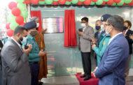 শান্তিনগর ট্রাফিক পুলিশ বক্স ও নাগরিক সেবা কেন্দ্র উদ্বোধন করলেন ডিএমপি কমিশনার