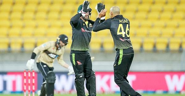 তৃতীয় টি-টোয়েন্টিতে  নিউজিল্যান্ডকে ৬৪ রানে হারাল অস্ট্রেলিয়া