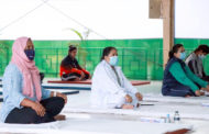 রাজারবাগে কোভিড-১৯ সম্পর্কিত স্বাস্থ্য সচেতনতামূলক ইয়োগা কর্মশালা অনুষ্ঠিত